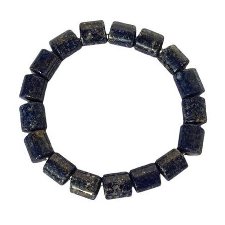 Armband Tönnchen 10x11, Lapis Lazuli