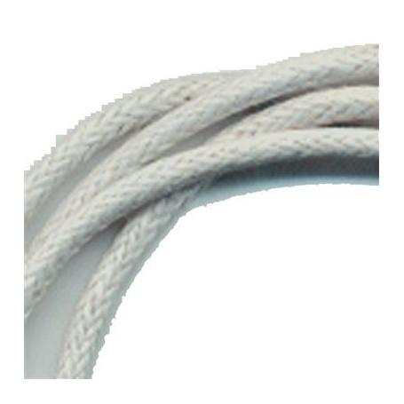 Baumwollband mit Silber-Verschluss, grau, 1,5mm x 45cm