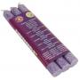 Duftkerze - 7. Chakra Sahasrara (violett) - dünn - 3 x