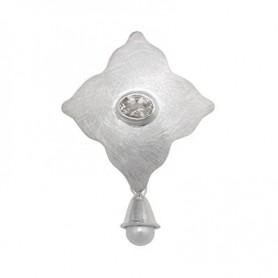 Anhänger Perle, Topas, ca. 5,5cm