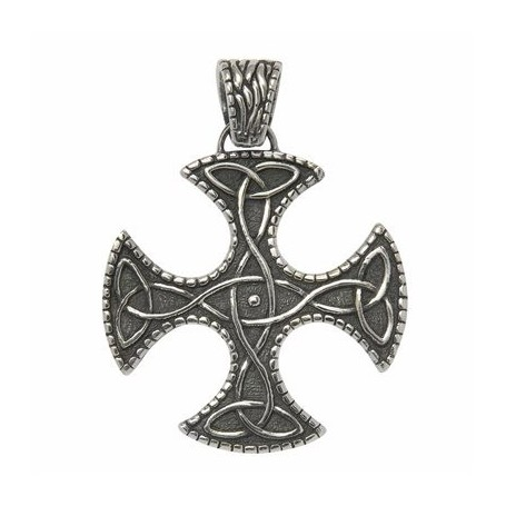 Anhänger -Keltisches Kreuz-, Silber, 3,5cm