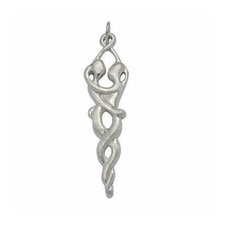 Symbol-Anhänger Vereinigung Silber, ca. 5,0cm