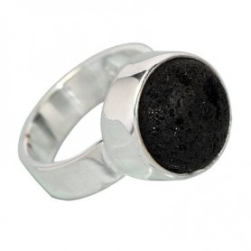 Design-Ring mit Lava
