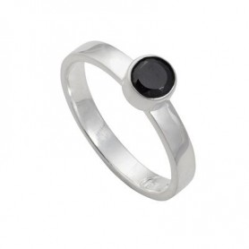 Design-Ring mit Spinell facet