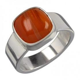Ring Carneol quadratisch