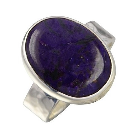 Ring mit Sugilith oval