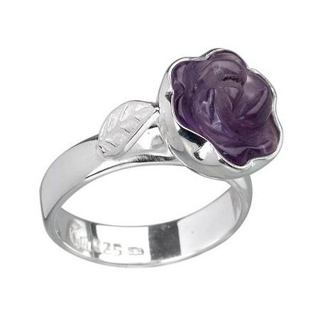 Ring Rose Amethyst