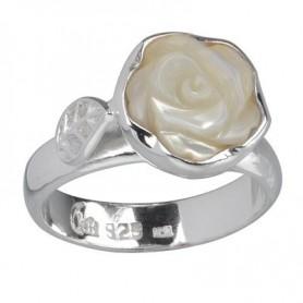 Ring Rose Perlmutt