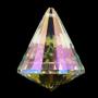 Regenbogen-Kristalle Kegel Perlmutt AAA Qualität