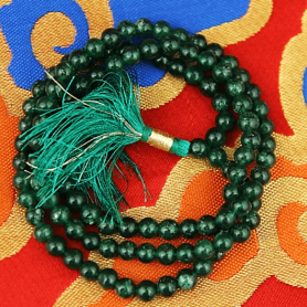 Mala Aventurin AA -Qualität 108 Perlen + Tasche