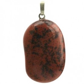 Anhänger Obsidian (Mahagony-Obsidian) Trommelstein