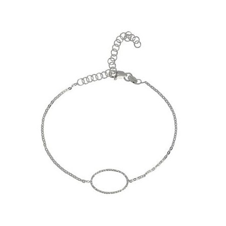 Armband -Glücksband Kreisel-, 16 - 21cm