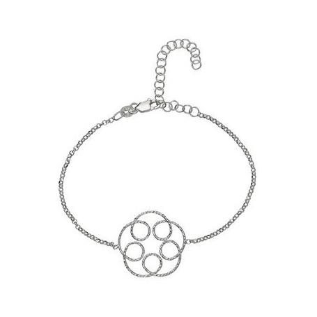 Armband -Glücksband Blüte-, 16 - 21cm