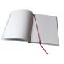 Traumfänger mit gehäkeltem Netz, weiss 16x50cm