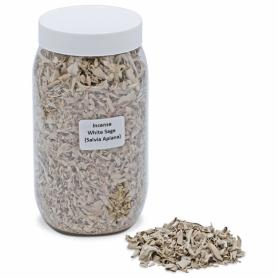Räucherware Weißer Salbei 200 gr Dose (Salvia Apiana)