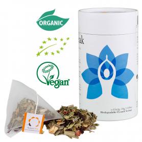 Solaris Biologischer Tee: Halschakra