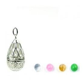 Gabriele Iazzetta - Kleines Wunschkugel Amulett Silber