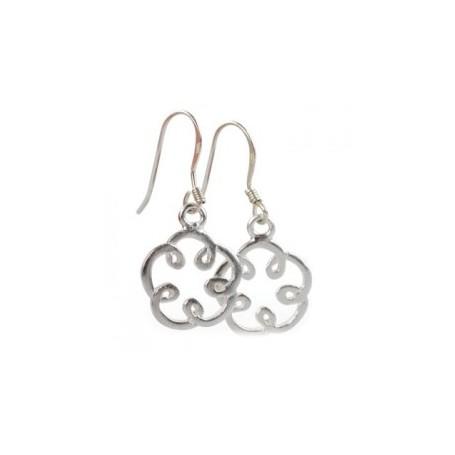 Gabriele Iazzetta - Kleine Energie-Reiki-Spiralen-Ohrringe-Silber