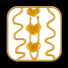 """Ingrid Auer - Symbol """"Rückverbindung mit Avalon"""" weiß"""