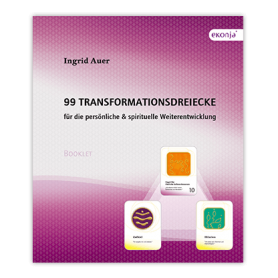 "Ingrid Auer - Booklet ""99 Transformationsdreiecke"""