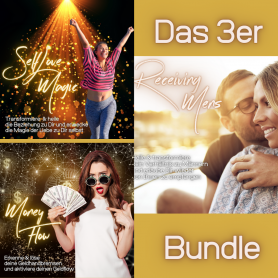 3 er Bundle Tagesworkshop - inkl. MoneyFlow,SelfLoveMagic & Receiving Mens