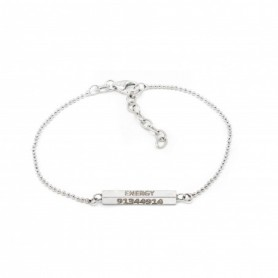 Gabriele Iazzetta - Energy-Silber-Armband