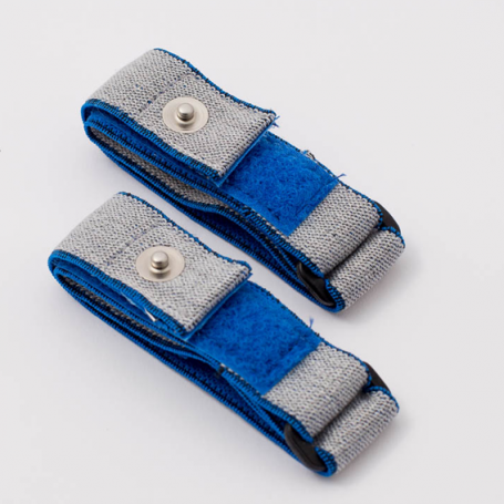Armelektroden blau/grau - für TimeWaver, Healy & Elektro & Tens - Stimulationsgeräte