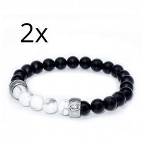 Gabriele Iazzetta - 2 Yin-Yang Partner-Armbänder