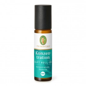 Primavera® Duft Roll-On - Konzentration Duft Roll-On bio 10 ml