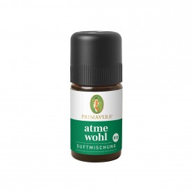 Primavera® Aroma Health Care - Atmewohl Duftmischung bio 5ml