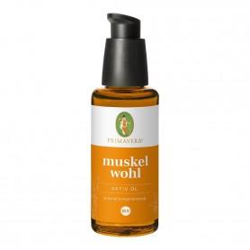 Primavera® Aroma Health Care - Muskelwohl Aktiv Öl bio 50ml