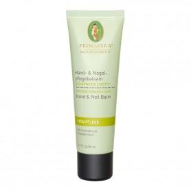 Primavera®Körperpflege - Hand- & Nagelpflegebalsam Bio Ingwer & Limette 50 ml