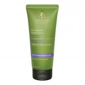 Primavera®Körperpflege - Beruhigende Körpercreme Bio Lavendel & Bio Vanille 200 ml
