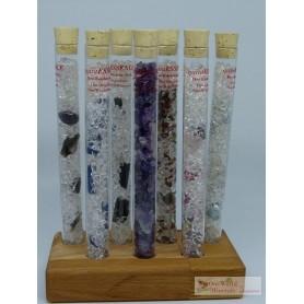 One World Minerals - Set mit allen Select! quintESSENCE Edelsteinwasser-Stäben und Ständer