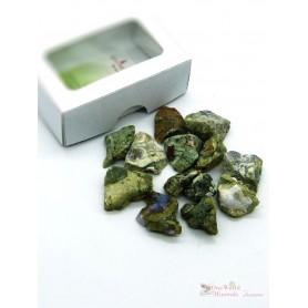 One World Minerals - Rhyolith Wassersteine - Schachtel mit Sichtfenster - quintESSENCE Wassersteine