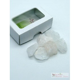 One World Minerals - Bergkristall Wassersteine - Schachtel mit Sichtfenster - quintESSENCE Wassersteine