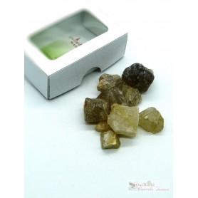 One World Minerals - Rutilquarz Wassersteine - Schachtel mit Sichtfenster - quintESSENCE Wassersteine