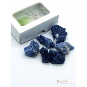 One World Minerals - Sodalith Wassersteine - Schachtel mit Sichtfenster - quintESSENCE Wassersteine