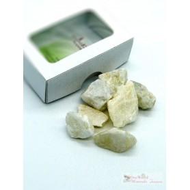 One World Minerals - Mondstein Tanzania Wassersteine - Schachtel mit Sichtfenster - quintESSENCE Wassersteine