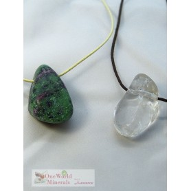 "One World Minerals - Therapiestein Anhänger-Set  ""Dynamik & Regeneration"" - Ideal für Onlineshop oder Dropshipping"