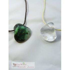 """One World Minerals - Therapiestein Anhänger-Set """"Orientierung & Wachstum"""" - Ideal für Onlineshop oder Dropshipping"""