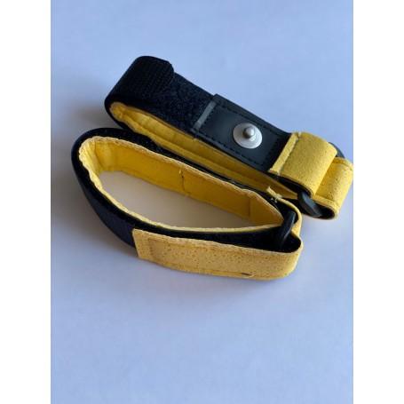 Armelektroden schwarz/gelb - für TimeWaver, Healy & Elektro & Tens - Stimulationsgeräte