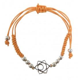 """Armband """"Svadistanam Chakra"""" orange 1"""