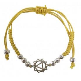 "Armband ""Manipuram Chakra"" gelb 1"