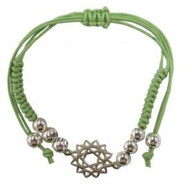 """Armband """"Anahatam Chakra"""" grün 1"""