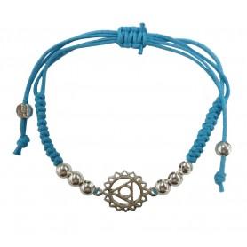 "Armband ""Vishuddhi Chakra"" türkis 1"