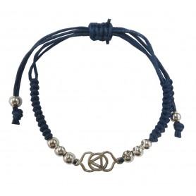 """Armband """"Ajna Chakra"""" blau 1"""