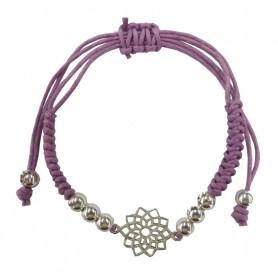 """Armband """"Sahasrara Chakra"""" violett 1"""