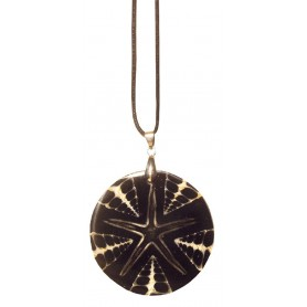 Muschel - Halskette Resin 5cm