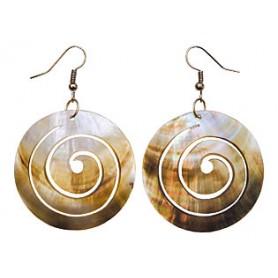 """Muschel - Ohrring """"Spirale"""" 2er Set"""